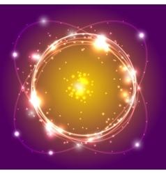 abstract swirl vector image