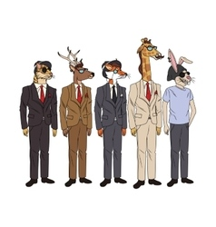 animals hipster design vector image