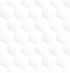 White hexagon abstract seamless pattern background vector