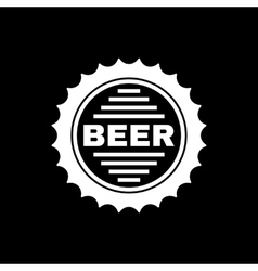 The beer icon pub and beer alcohol symbol ui vector