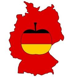 German apple vector