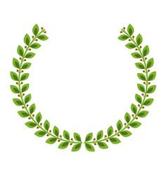 laurel crown icon imag vector image vector image