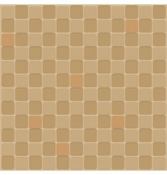 Mosaic seamless background in brown tone vector image vector image