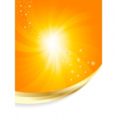 vector sunny background vector image