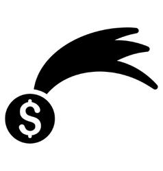 Lucky money flat icon vector