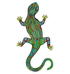 Magic Lizard vector image