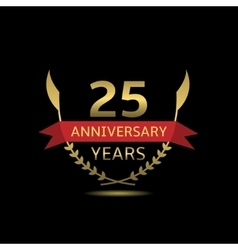 25 Anniversary years vector image vector image