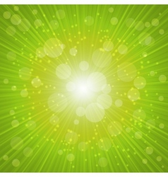 Green Summer Background vector image
