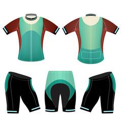 Green colors sports t-shirt vector