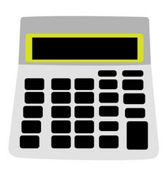 Isolated calculator icon vector