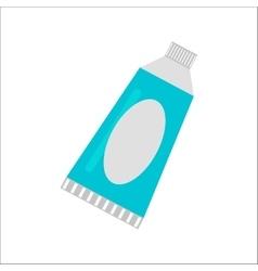 Tablet cream tube vector