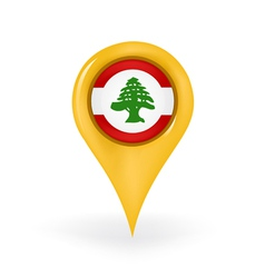 Location lebanon vector