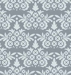 Vintage pattern seamless damask vintage background vector