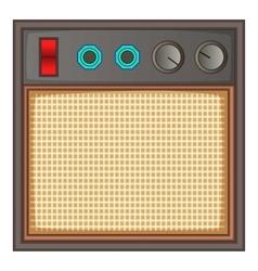 Guitar amplifier icon cartoon style vector image