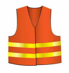 Safety jacket vector
