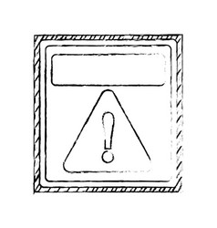 Danger and warning sign vector