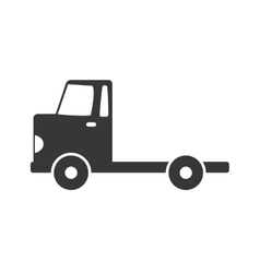 Truck icon delivery and shipping graphic vector