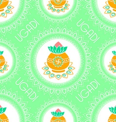 Background for ugadi celebration vector