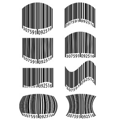 barcode 10 vector image vector image