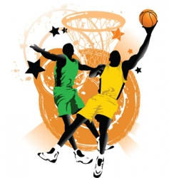 basketball club vector image
