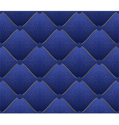 blue fabric vector image vector image
