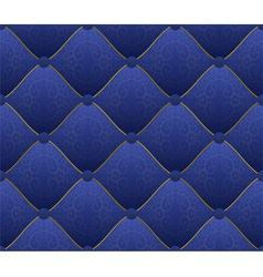 Blue fabric vector