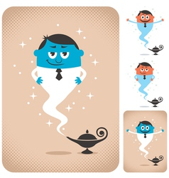 Business Assistant vector image vector image