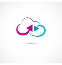 Cloud symbol vector