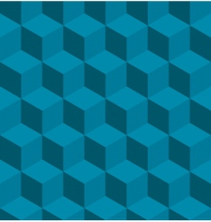 isometric cube pattern vector image vector image