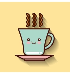 Coffee drink icon design vector