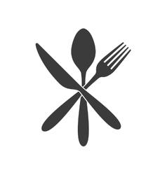 cutlery tools restaurant menu vector image