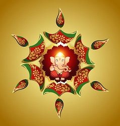 God ganesha vector