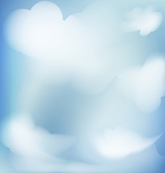 Abstract background blue sky vector