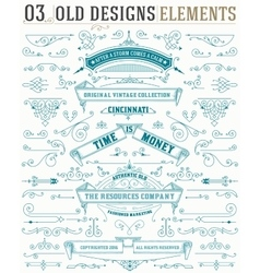 Set of elements and banners and layered vector image