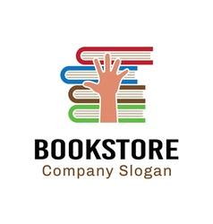 Book store design vector