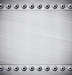 Metallic pappern vector image
