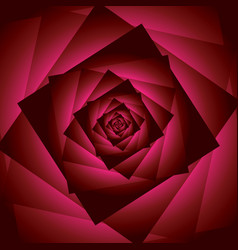 Red rose flower abstract square background vector