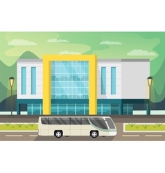 Shopping center orthogonal vector