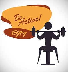 Be active design vector