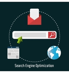 Search engine optimization design vector