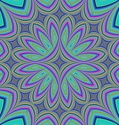 Abstract fractal kaleidoscope design background vector