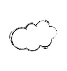 figure fashion cloud art style design vector image vector image
