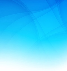 Modern blue smooth background abstraction with vector image vector image