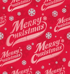 Seamless background - Christmas wrapping paper vector image vector image