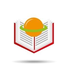 concept school book science vector image