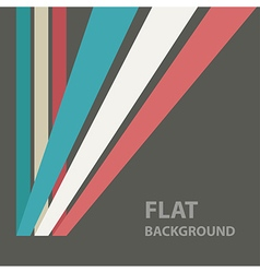 flat background 4 vector image vector image