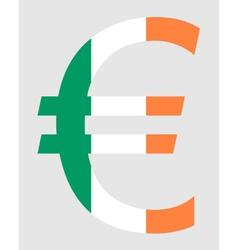 Irish euro vector