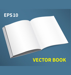 open book -01 vector image