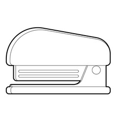 Stapler icon outline style vector