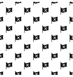 pirate flag pattern vector image